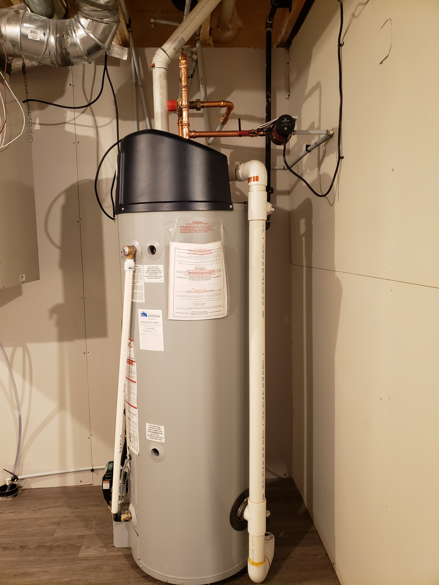 Enersave Condensing Hot Water Heater